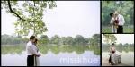 Album ảnh cưới ngoại cảnh chụp tại hồ Gươm, Hà Nội